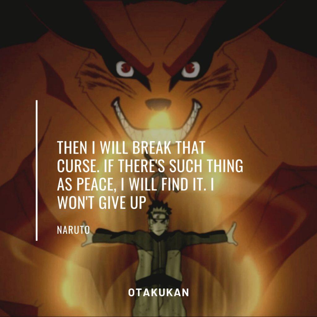 Naruto Anime Quote