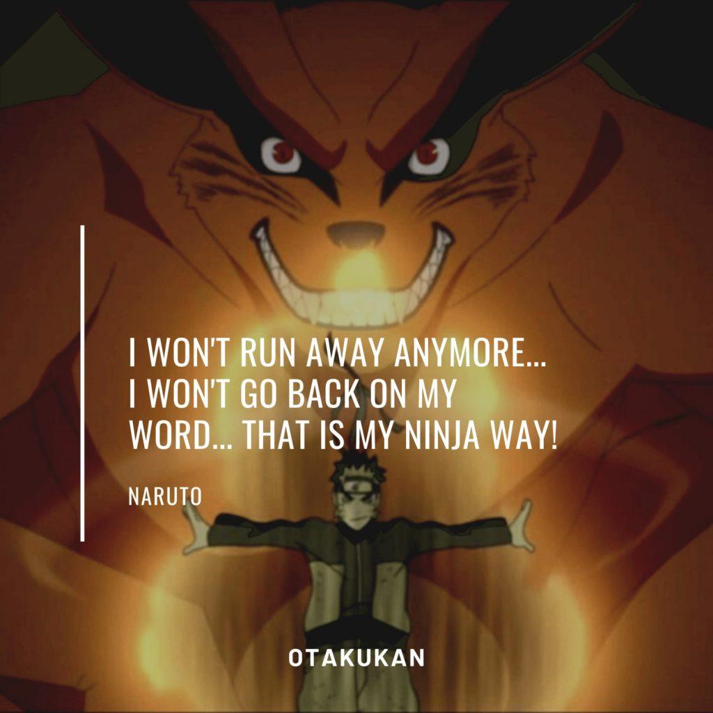 Naruto anime Quotes