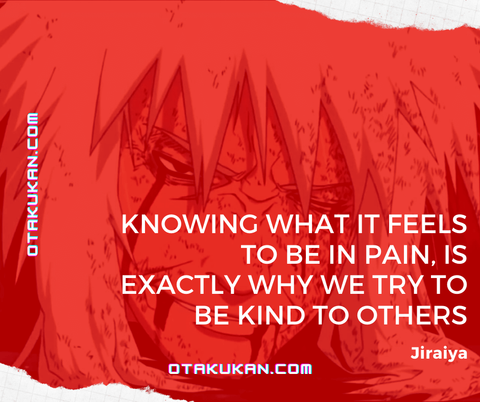 jiraiya quotes pain