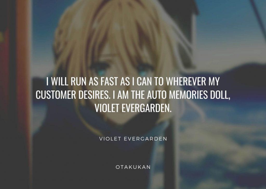 Violet Evergarden Quotes
