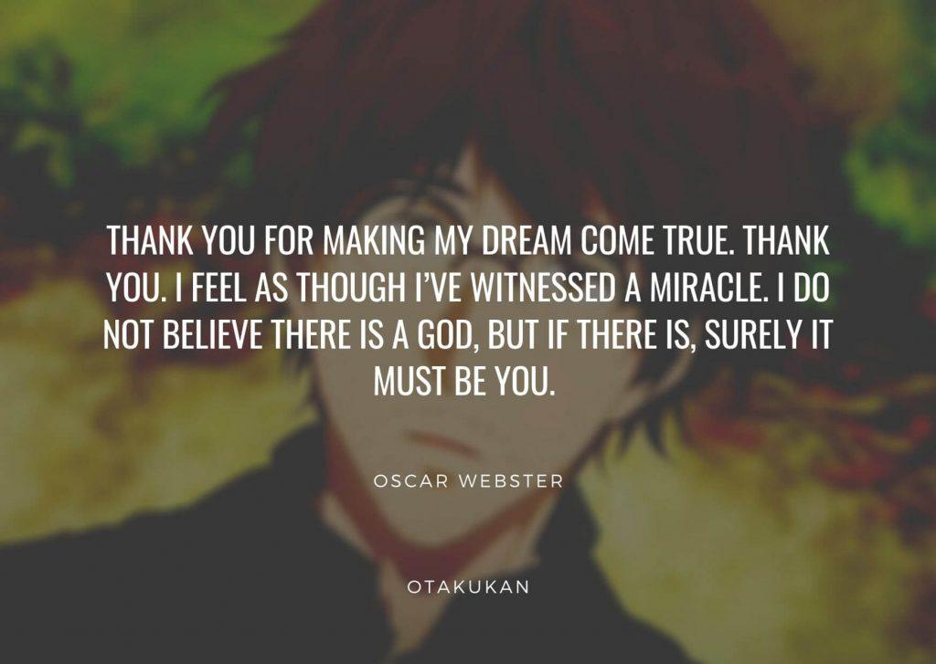 Oscar Webster Quotes